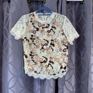 Blouse, worn once
